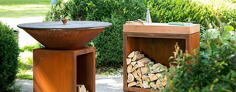 Le brasero-plancha-barbecue : design, convivial et respectueux de l'environnement
